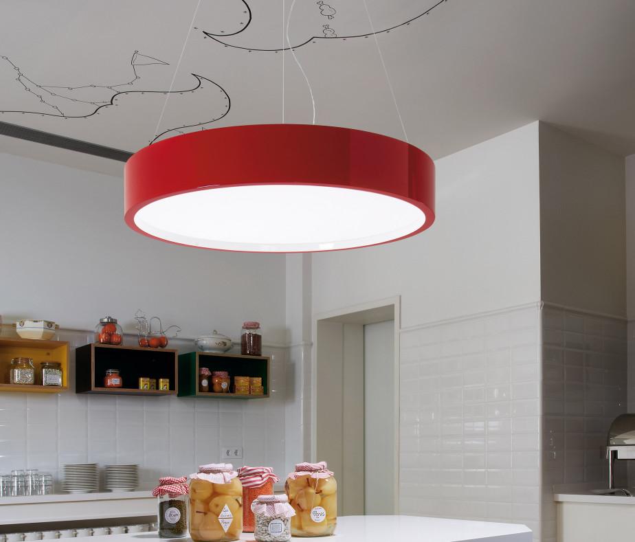 Keuken rood zwart bar keuken stoel in hoge resistible pvc met chrome benen carmen koop laag - Keuken in rood en wit ...