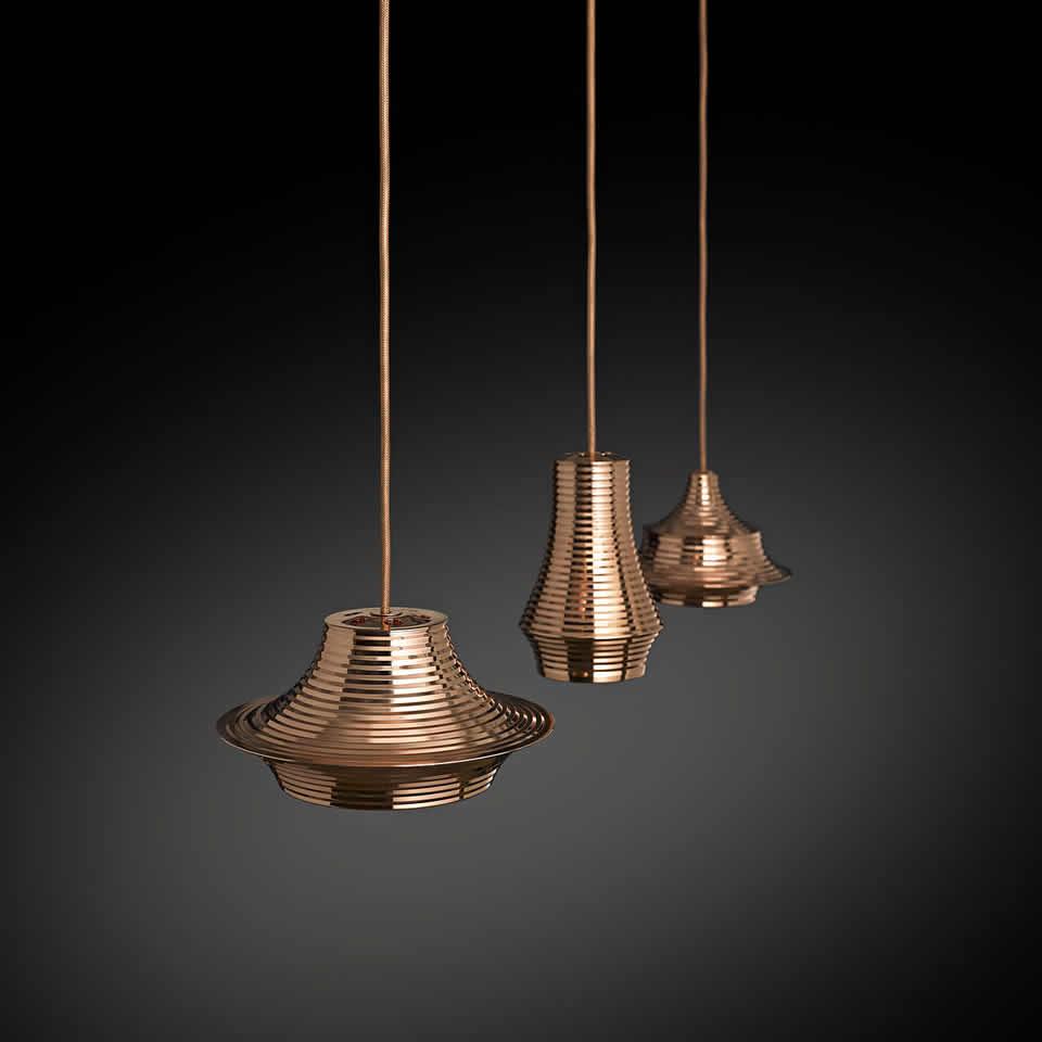 Strakke en moderne led design hanglampen for Led hanglampen woonkamer