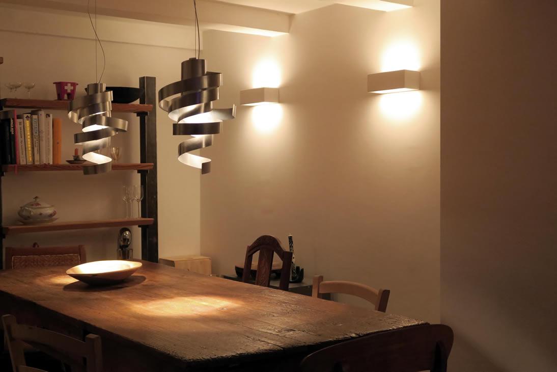Moderne wandverlichting kantoor pipedo for Moderne verlichting eetkamer
