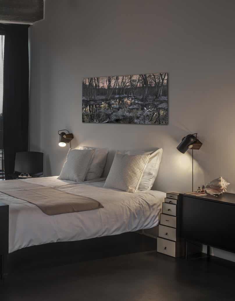 Stiljvolle design wandlamp spotjes for Slaapkamer bed