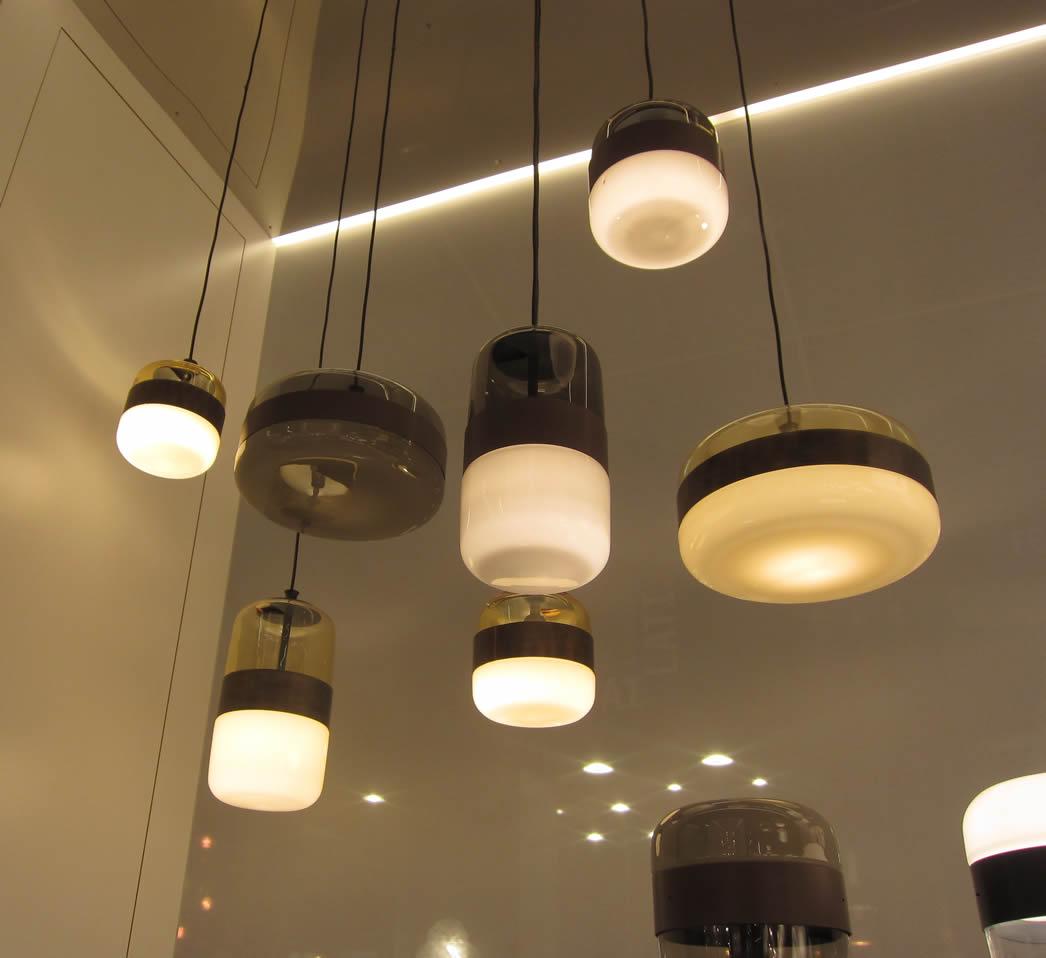 hanglampen glazen design lampen eetafel. Black Bedroom Furniture Sets. Home Design Ideas