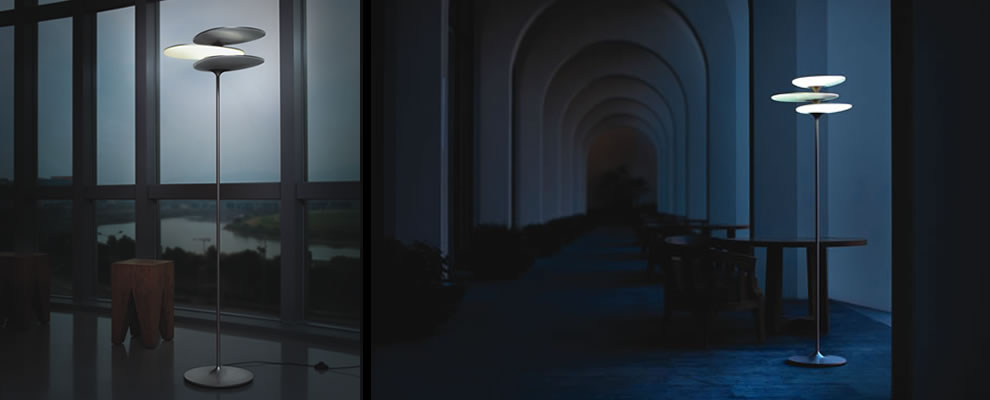 LED Vloerlamp En Leeslamp Met Reddot Design Award