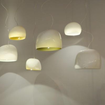 eetafel glas design hanglampen