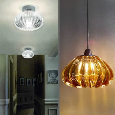 Klassieke glazen hanglampen