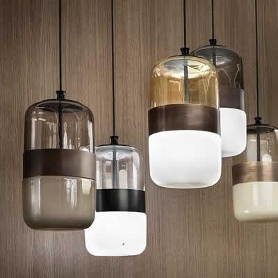 eettafel hanglamp glas