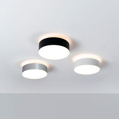 plafondverlichting zwart chroom en wit