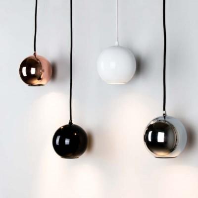 hanglampen spots in koper en chroom