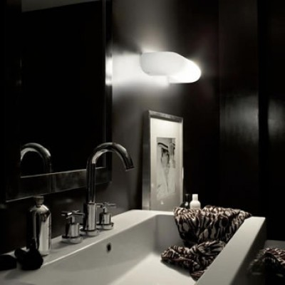 Moderne glazen design wandlamp