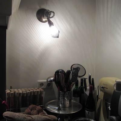 Bijzondere wandlamp