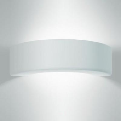 Mooie gips wandlampen  met licht naar boven en beneden
