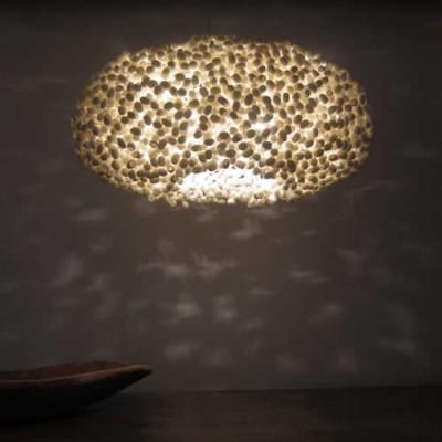 Grote hanglamp en interieur object