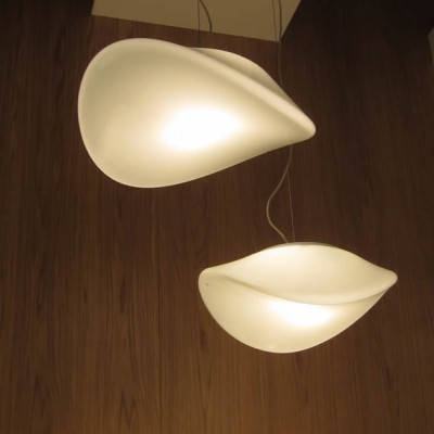 design glas plafondlampen