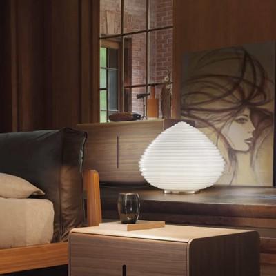 woonkamer tafellampen van glas