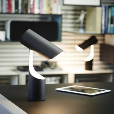 led leeslamp en tafellamp