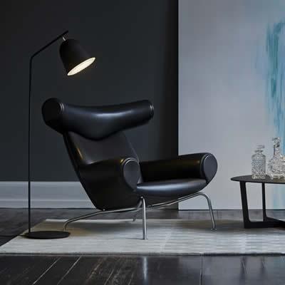 LED leeslamp in zwart of grijs