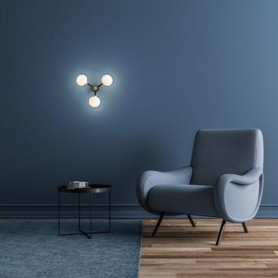 Elegante wandlampen en plafondlampen woonkamer