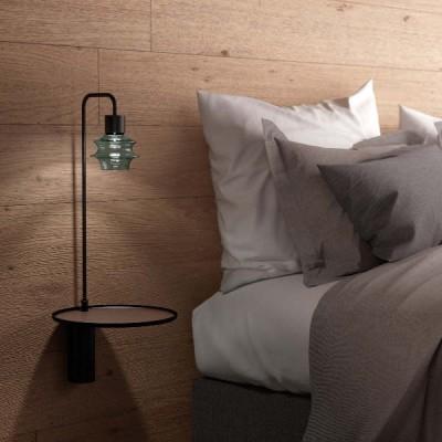 wandlamp slaapkamer met tafel en usb aansluiting