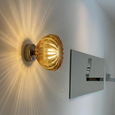 Klassieke glazen wandlampen