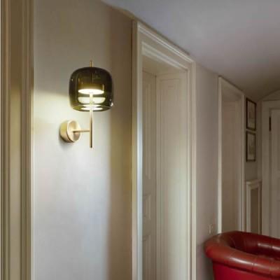 Glazen led wandlampen mondgeblazen woonkamer